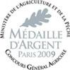 Médaille d'Argent Paris 2009