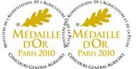 Médaille d'Or Paris 2010